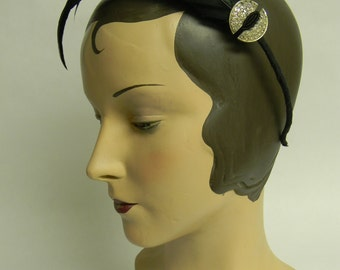 cocque feather headband
