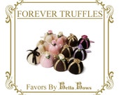 Forever Truffles - Sweet Bon Bon Pins and Hair Clips for Gothic and Lolita, Weddings, and Party Favors, Custom Made to Order
