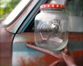 Rare JFG Hazel Atlas Peanut Butter Gallon Jar