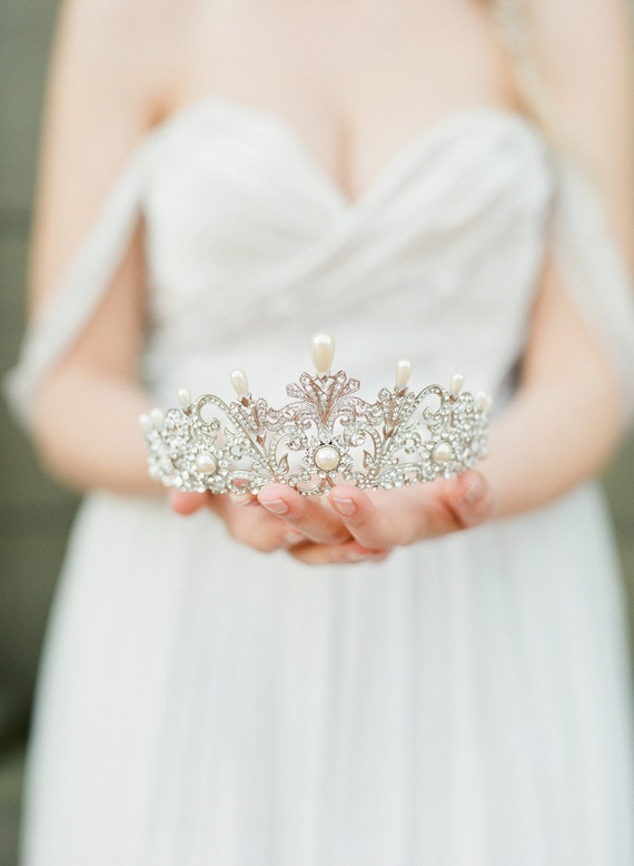 ALEXANDRA Bridal Crown