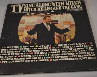 Vintage Gatefold Record TV Sing Along With Mitch Miller Album CL-1628