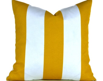 Indoor Outdoor Pillow Covers ANY SIZE Decorative Pillows Yellow Pillow Premier Prints Vertical Outdoor Citrus