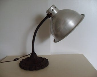 Vintage Industrail Desk/Work Lamp