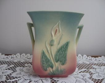 Hull Pottery vase - Calla Lily
