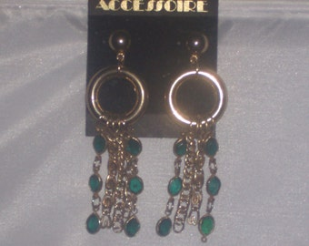 Vintage CHAIN EARRINGS