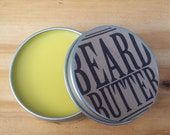Beard Butter 1.5 oz. Natural Scent Beard Conditioner,  Beard Balm, Father's Day Gift, Facial Hair, Men's Grooming, Men's Hair products,