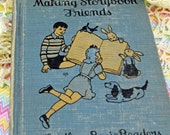 "1947 Basic Reader ""Making Storybook Friends"", School Book SIMILAR To Later Dick and Jane Books #21"