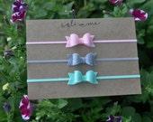 Baby Headband Set. Baby Headbands. Infant Gift Set. Tiny Bow Headbands. Felt Headbands. Trending Now