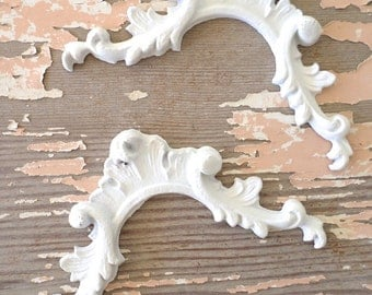 Shabby n Chic Architectural Carved Corners FLEXIBLE 5.95 NO LIMIT Shipping