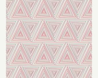 ON SALE Prisma in Watermelon from Minimalista by Art Gallery Fabrics