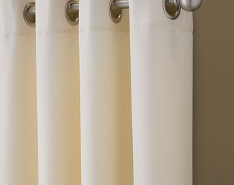 Organic Twill 5 colors >>>  Double Wide curtains  Drapes 2 Story Extra Long Custom Made  Drapes