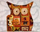 Primitive/Shabby Owl Doll/Pillow~Halloween Prim Blocks~Tuck/Ornie~Pumpkin/Cat