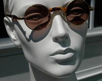 vintage round Désigner Sunglasses by ALAIN MIKLI PARIS