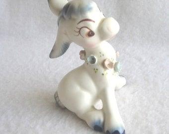 Adorable Vintage Ceramica de Cernavaca Donkey Pottery Figurine Mexico