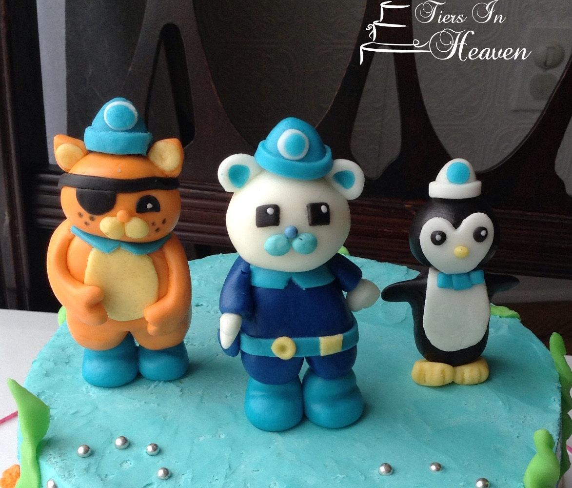Edible Cake Images Octonauts : OCTONAUTS CAKE TOPPER Edible Cake topper Fondant octonauts