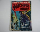 1969  Vintage DC Comics The Witching Hour No. 4 Comic Book
