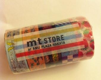 mt store at amu plaza hakata Masking Tape / Limited Edition x mt store at amu plaza hakata / 5 roll