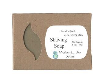 Goat's Milk Oatmeal Shaving Soap (5 oz)