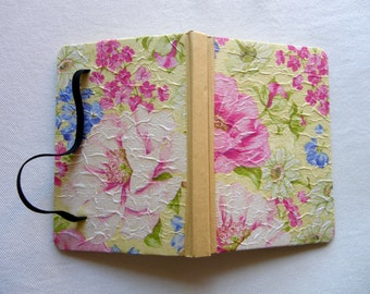 Flower notebook Floral notebook Flower journal Floral journal Blank journal Blank notebook Pink notebook Pink journal
