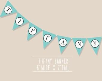 Tiffany Banner