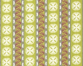 Fontaine Stripes in green by Vetmarie fo P&B Textiles 744G
