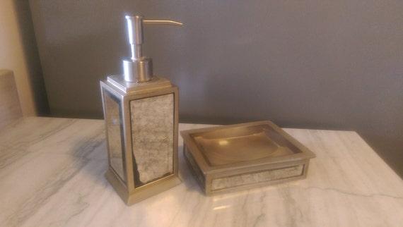 Items Similar To Antique Glass Neiman Marcus Soap