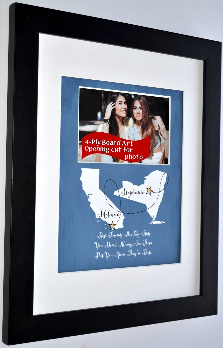 Personalized Best Friend Photo Moving Away Gift Ideas Goodbye