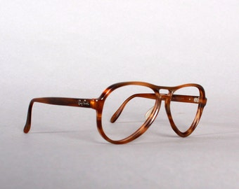 80s RAY-BAN Brown Vagabond FRAMES / 1980s Men's 56mm Sunglasses Glasses