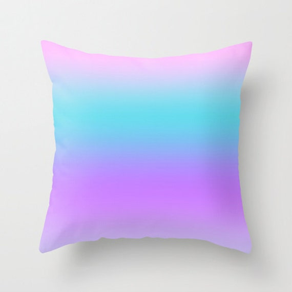 Throw Pillow Lilac : Solid Lilac Throw Pillows Modern Minimalist Sunset Decor