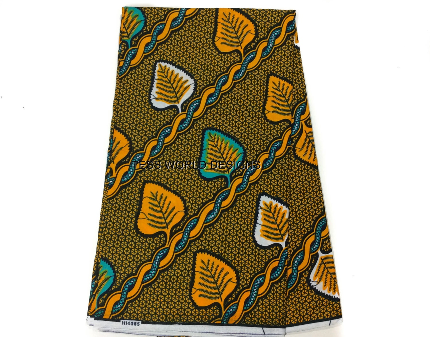 Clearance sale vine african fabric by the yard african for Clearance craft supplies sale