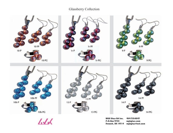 Glassberry Earring or Necklace