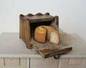 Dollhouse  Miniature Bread/ Cake Box