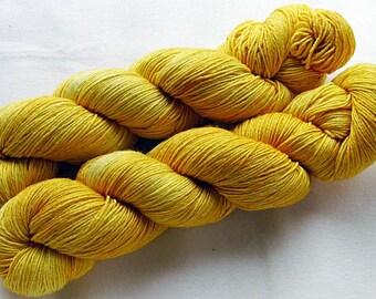 Merino Silk handpainted Knitting Yarn, 80 Wool  superwash, 20 Silk 100g 3.5 oz.  Nr. 182