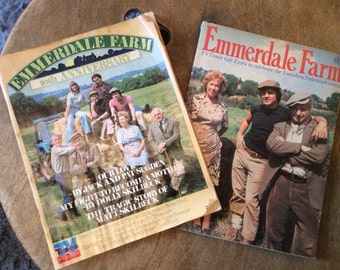 Emmerdale Farm Collectable Magazines - Vintage TV Times Special Editions - British TV Soaps Memorabilia