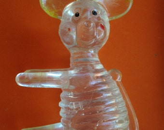 Vintage Carnival Toy Plastic Mouse