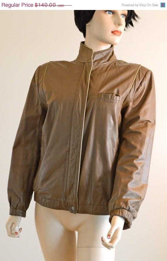 En vente 80 s veste en cuir ann es 80 vintage cuir slim - Veste annee 80 ...