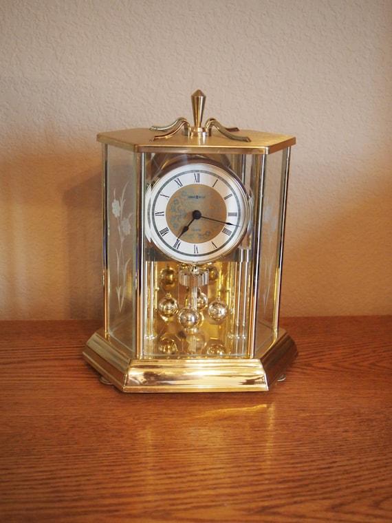 Vintage Howard Miller Anniversary Mantel Clock