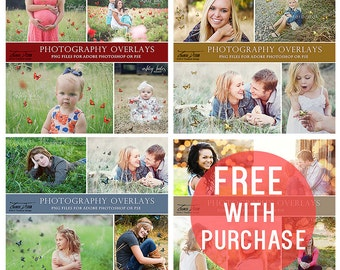 Photo Overlays Butterfly Bundle, Butterfly Photography Overlays for Adobe Photoshop,INSTANT DOWNLOAD, sku po-b-4