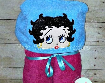 Betty Inspired Hooded Towel