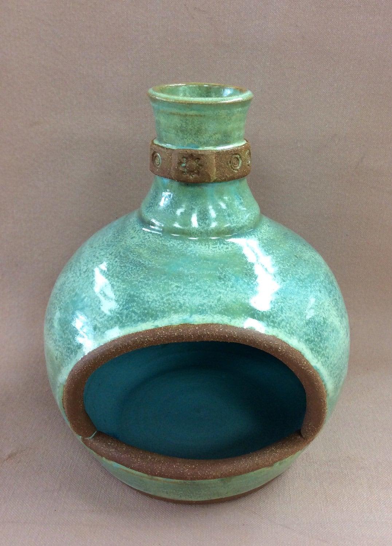 Small Chiminea Stoneware Pottery Handmade