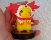 Pikachu custom amiibo- Fennekin