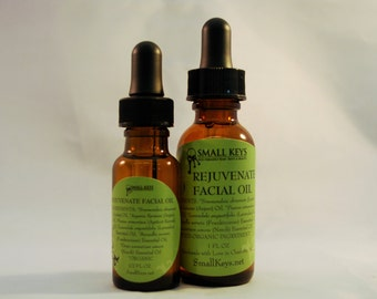 Rejuvenate Facial Oil -  Now with All Organic Ingredients