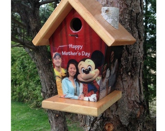 Custom Birdhouse Mothers Day