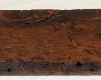 Reclaimed Barn Wood Floating Shelf