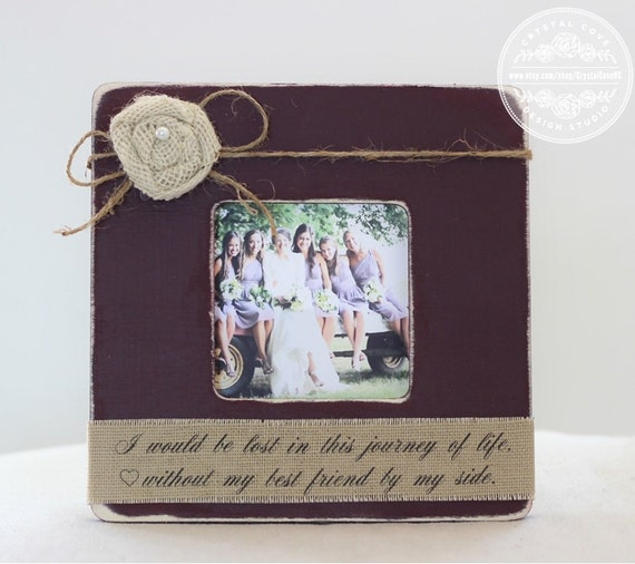 Best Friend Gift Bridesmaid Maid Of Honor Matron Of Honor Gift