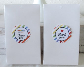 Art Party Printable Favor Tags: INSTANT DOWNLOAD