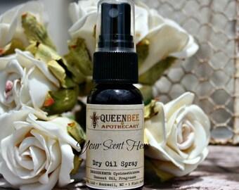 FEVERISH - Dry Oil Body Mist - Silky Perfume - Hair/Body Safe