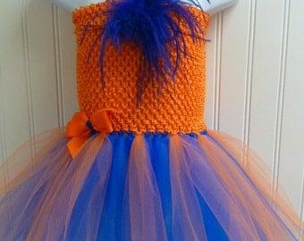 Team color tutu dress/you choose colors!