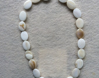 Mother Of Pearl Natural Bleached Shell Beads Jewelry Making Supplies
