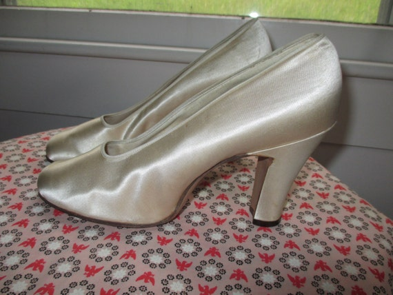 Satin Wedding Shoes from 1937